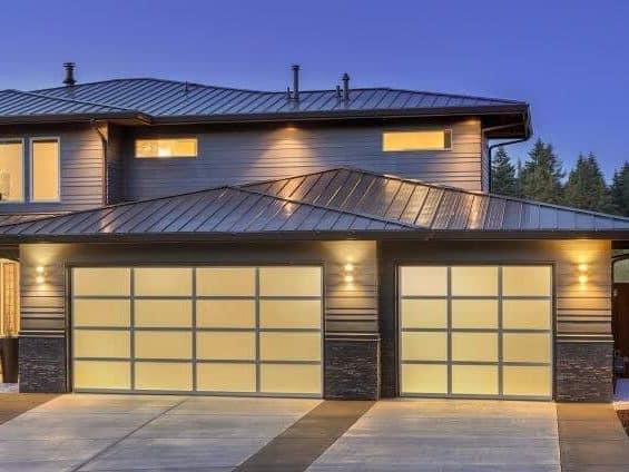 Dominator Ventalite Designer Sectional Garage Door