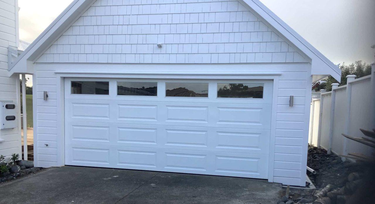 Dominator Somerset Sectional Garage Door Appliance White