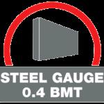 0.4 Steel Gauge