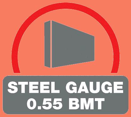 0.55 Steel Gauge