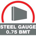 0.75 Steel Gauge